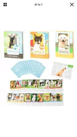 Wild Animal Flash Card Game Book For Kids Educational Learni