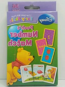 Disney Winnie the Pooh Flash Cards Number Match